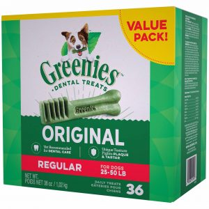 Greenies Regular Dental Dog Treats 2.25lb