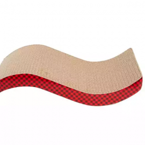 Grreat Choice® Wave Curved Cat Scratcher