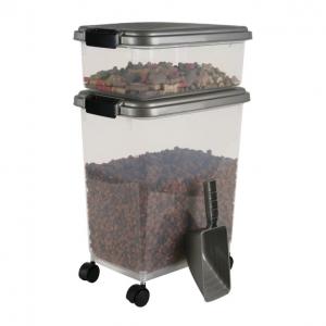 IRIS Airtight Pet Food Storage Combo with Scoop