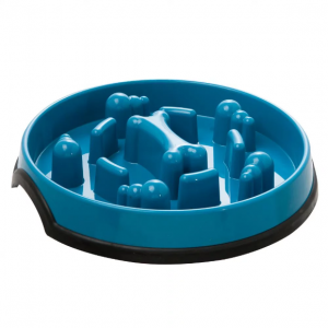 KONG® Slow Feeder Puzzle Dog Bowl