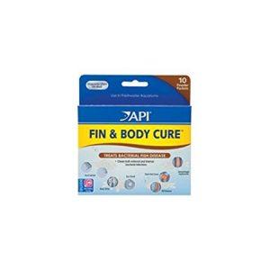 API FIN & BODY CURE Freshwater Fish Powder Medication