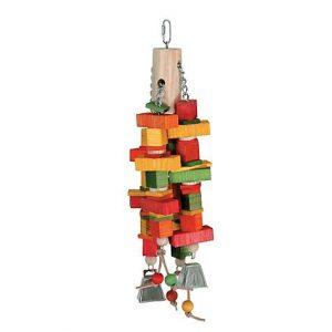 Caitec Chewin' Log Bird Toy