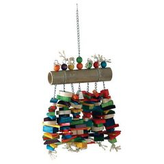 Caitec Giant Bamboo Log Bird Toy