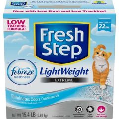 Fresh Step Lightweight Extreme with Febreze Freshness, Clumping Cat Litter, Scented