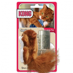KONG® Squirrel Catnip Cat Toy