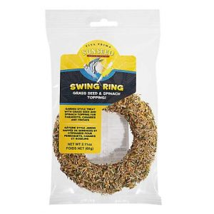 Sun Seed Vita Prima Swing Ring Parakeet, Canary & Finch Treat, 2.11 oz.