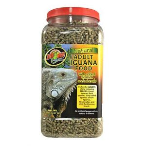 Zoo Med Natural Adult Iguana Food, 5 lbs.